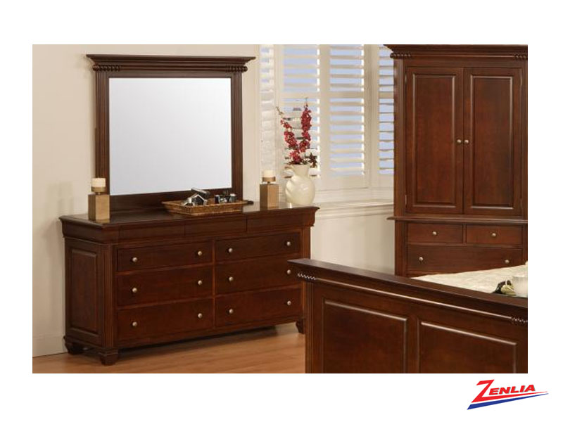Can Class 9 Drawer Dresser & Mirror
