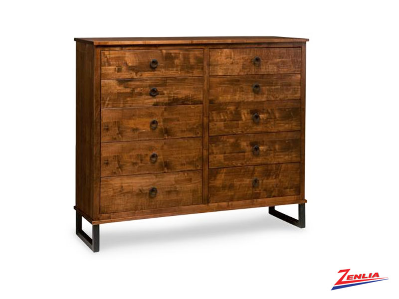 Cumber 10 Drawer Dresser