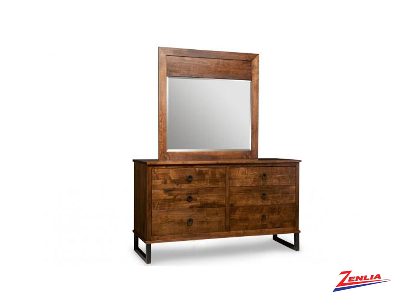 Cumb 6 Drawer Dresser & Mirror