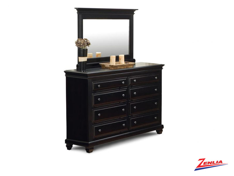 Florent 8 Drawer Dresser & Mirror