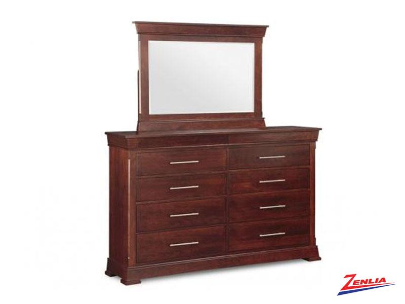 Kens 10 Drawer Dresser & Mirror