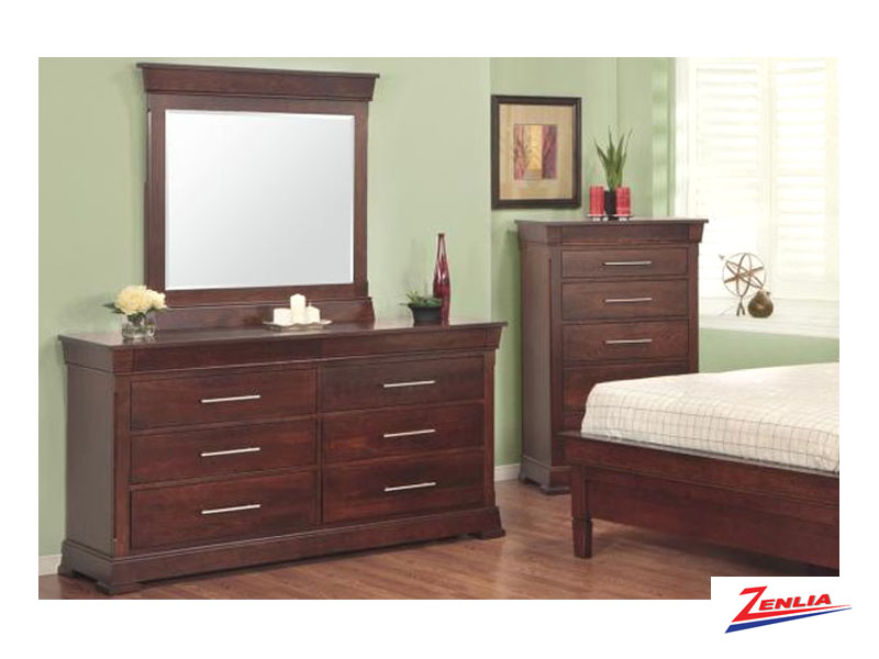 Kens 8 Drawer Dresser And Mirror