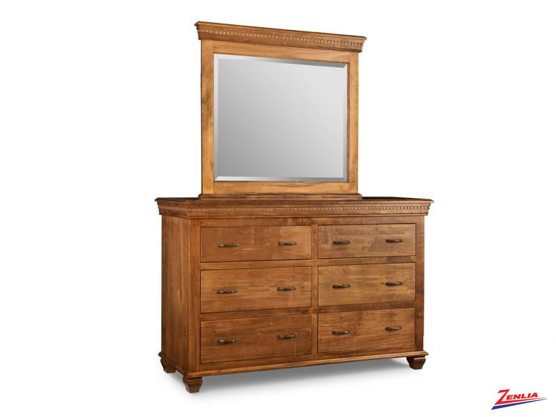 Proven 6 Drawer Dresser & Mirror