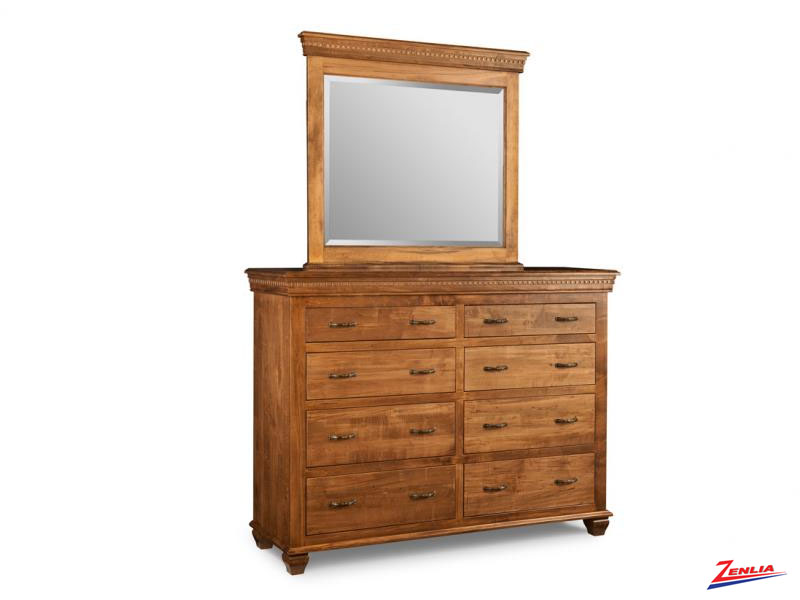 Proven 8 Drawer Dresser & Mirror