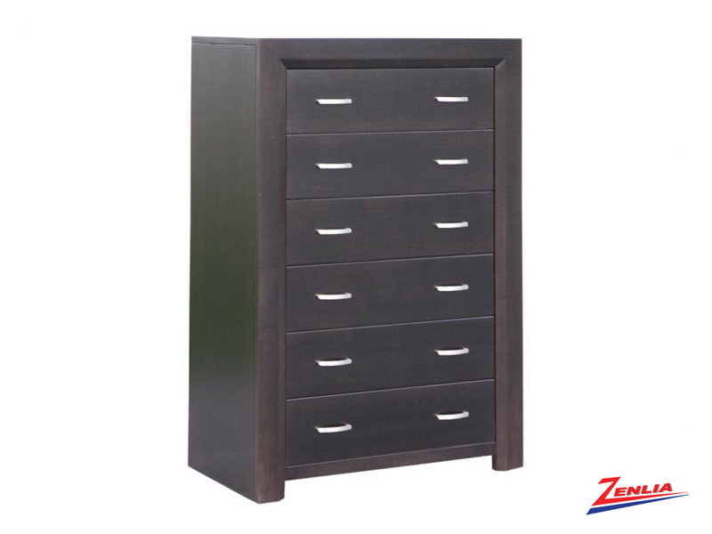 Cont 6 Drawer Hiboy Chest