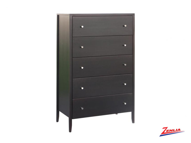 Tran 5 Drawer Hiboy Chest