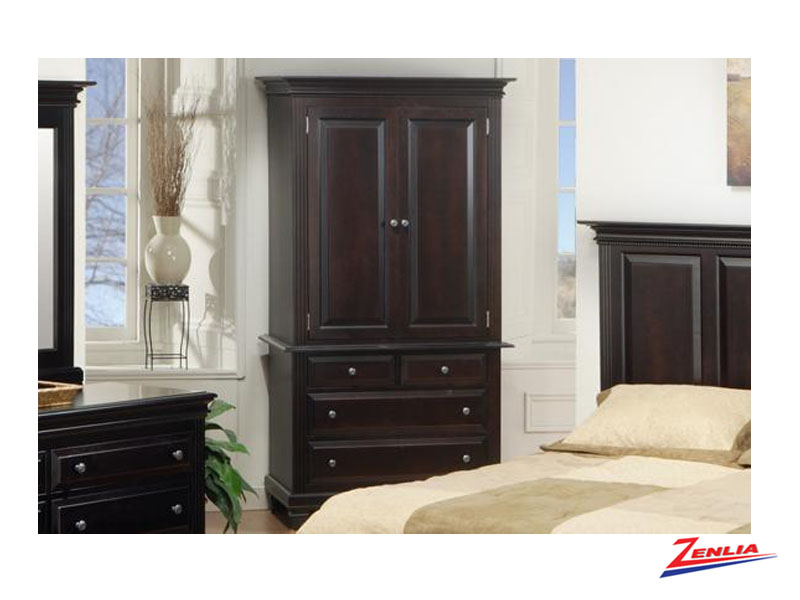 Florent tv armoire solid wood bedroom