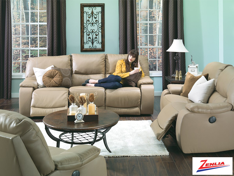 Nor Reclining Sofa Set