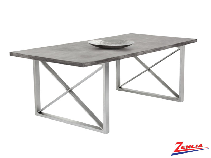Cata Concrete Dining Table