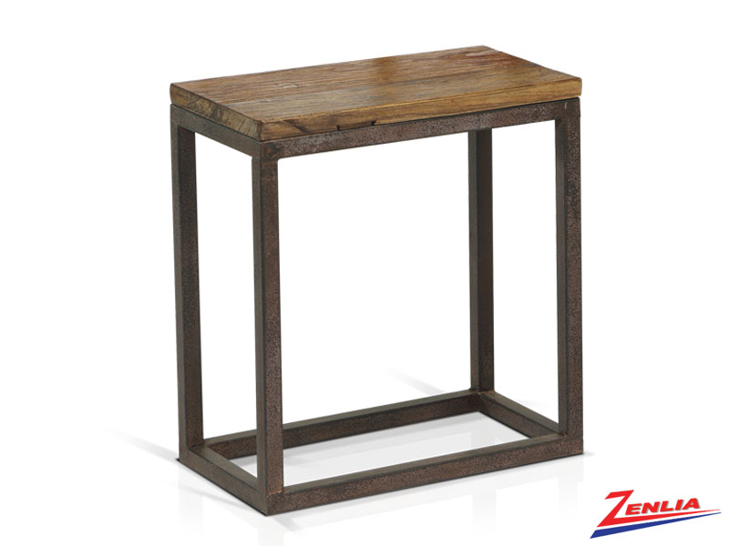 Ann Old Elm Top End Table