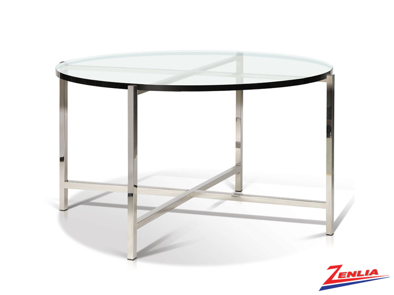 Berg Glass Top Coffee Table
