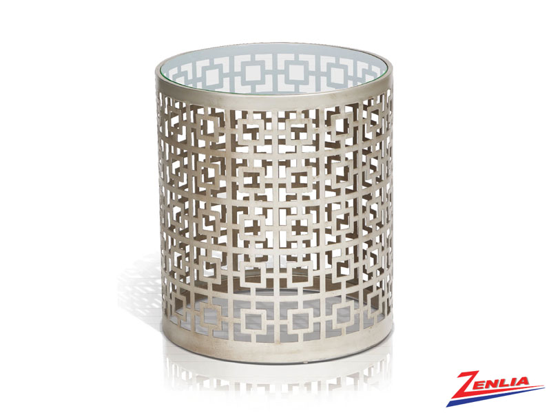 Caro Clear End Table