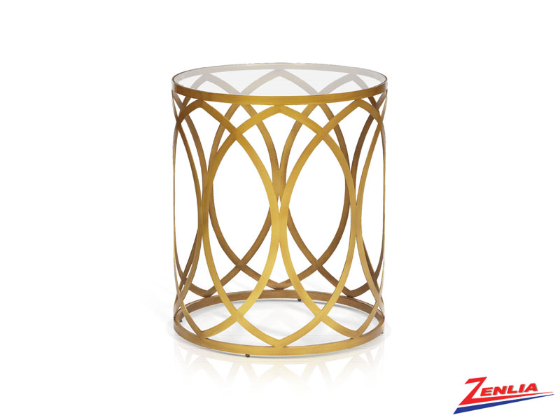 Grace Gold Accent Table