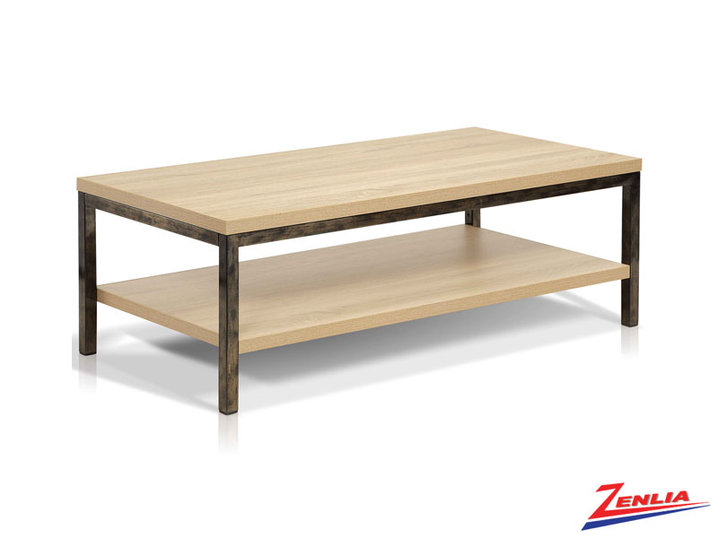 Just Antique Natural Coffee Table