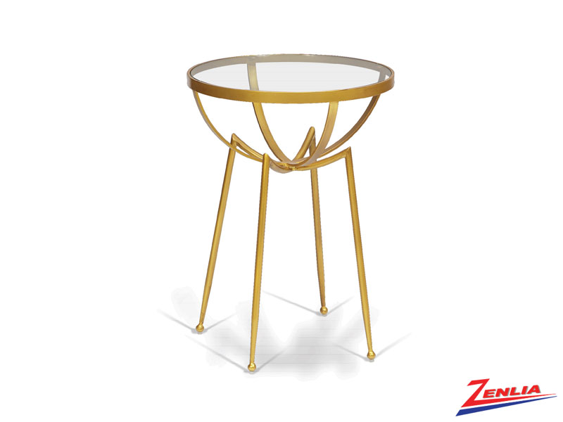 Lan Gold Accent Table