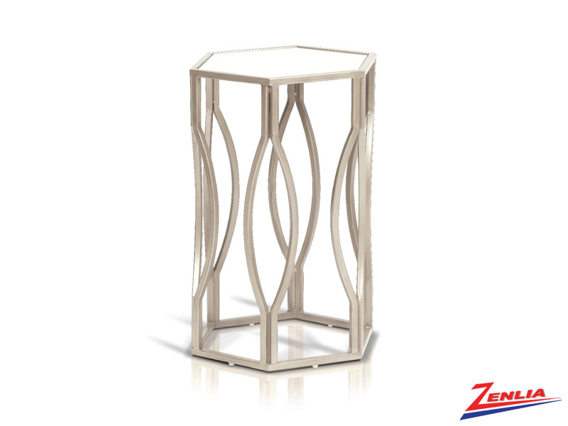 Lio Champagne Accent Table