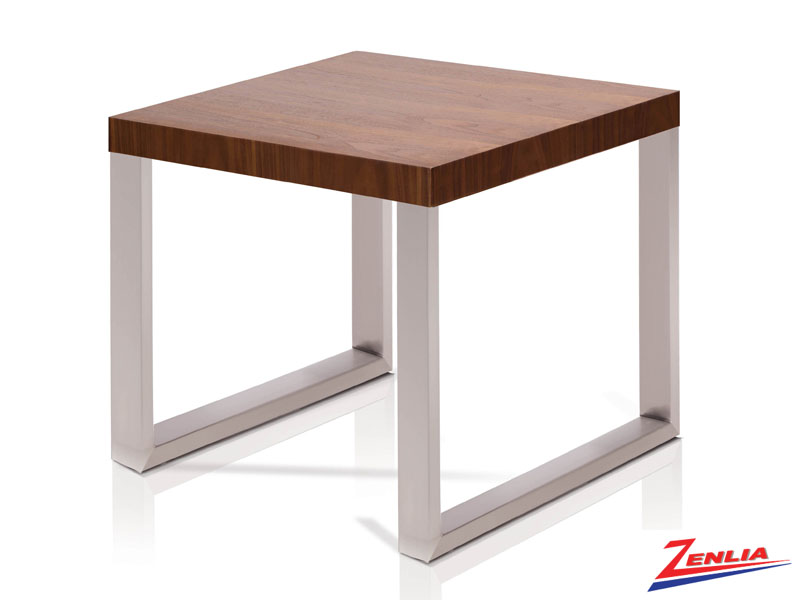 Mont Walnut End Table