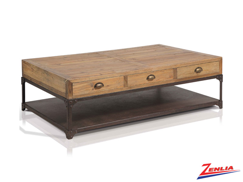 Oli Coffee Table With 6 Drawers