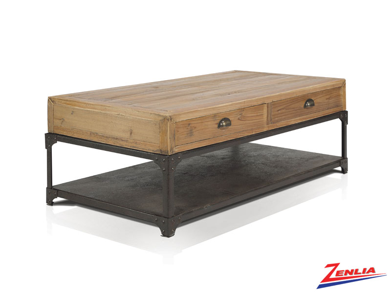 Oli Coffee Table With 4 Drawers