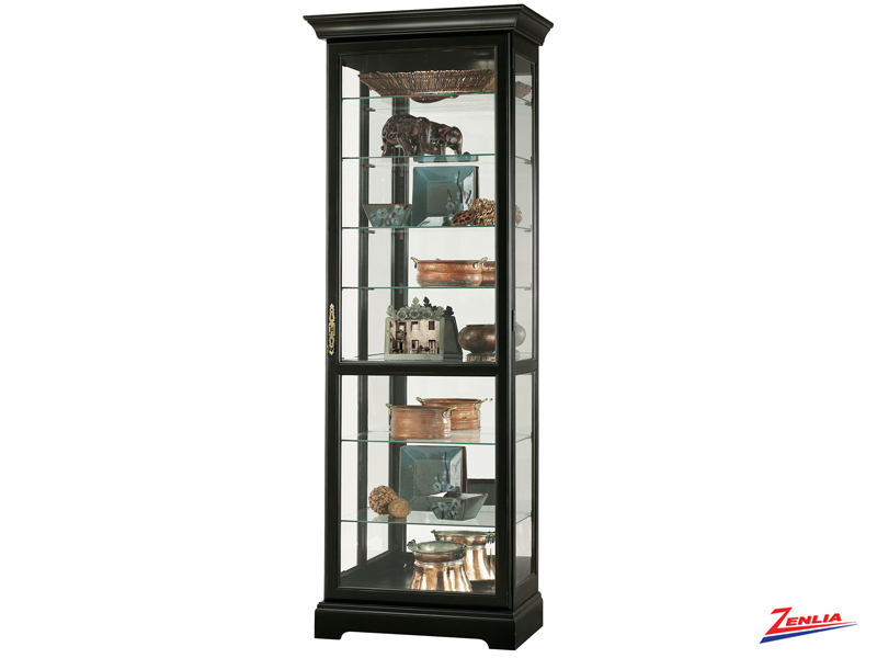 Chester 111 Antique Black Curio