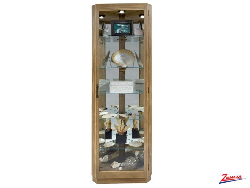 Mel Corner Curio Cabinet