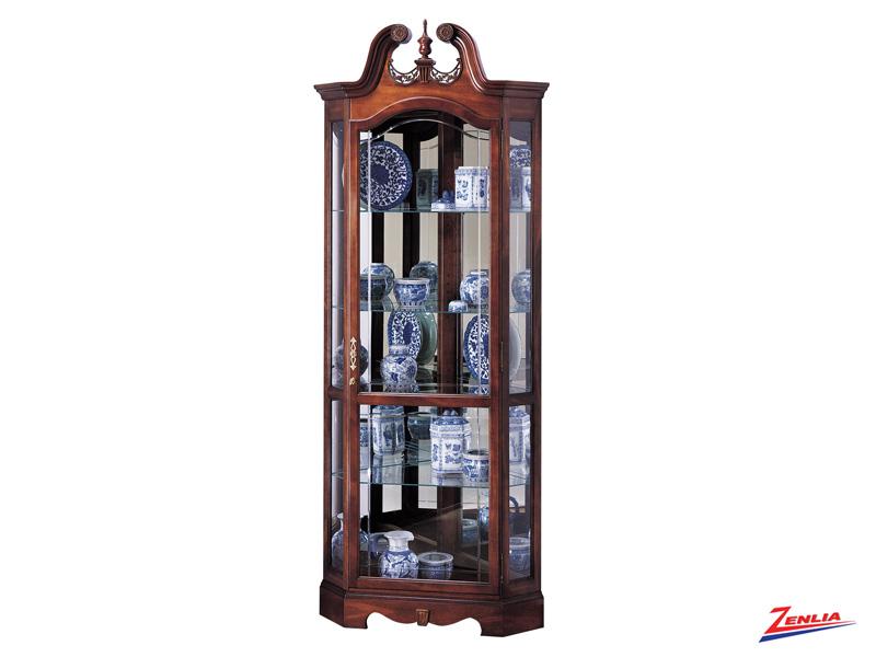 Berk Corner Curio Cabinet