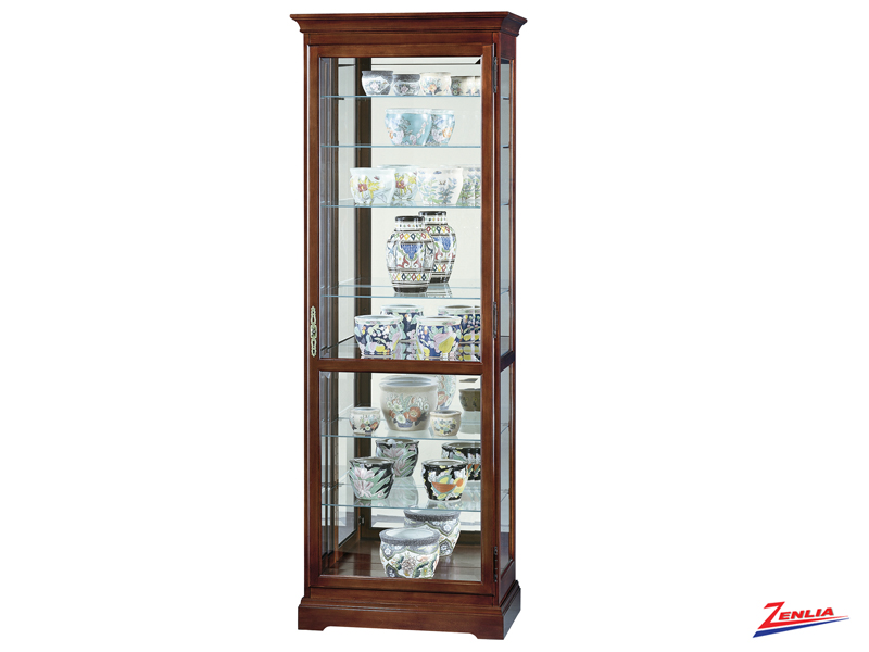 Chester Cherry Finish Curio
