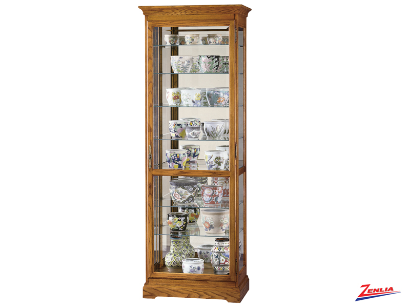 Chester 2 Golder Oak Curio