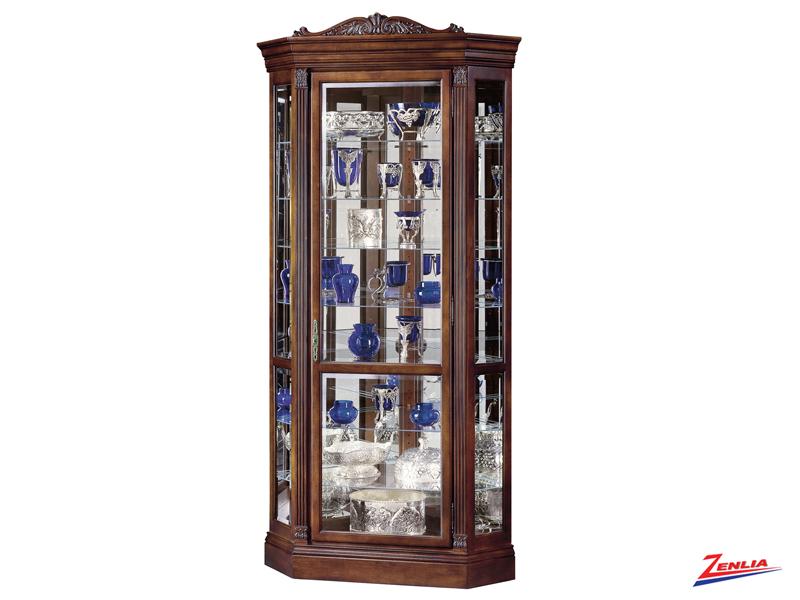 Emb 2 Corner Curio Cabinet
