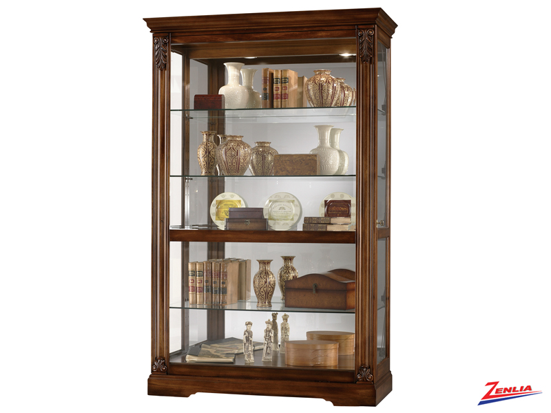 Rams Sliding Door Curio