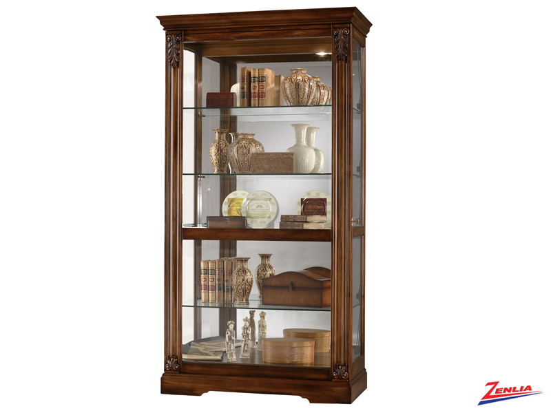 Andre Tuscany Cherry Finish Curio