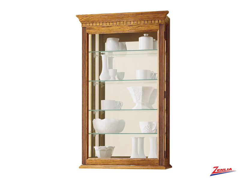 Mont Golden Oak Wall Curio