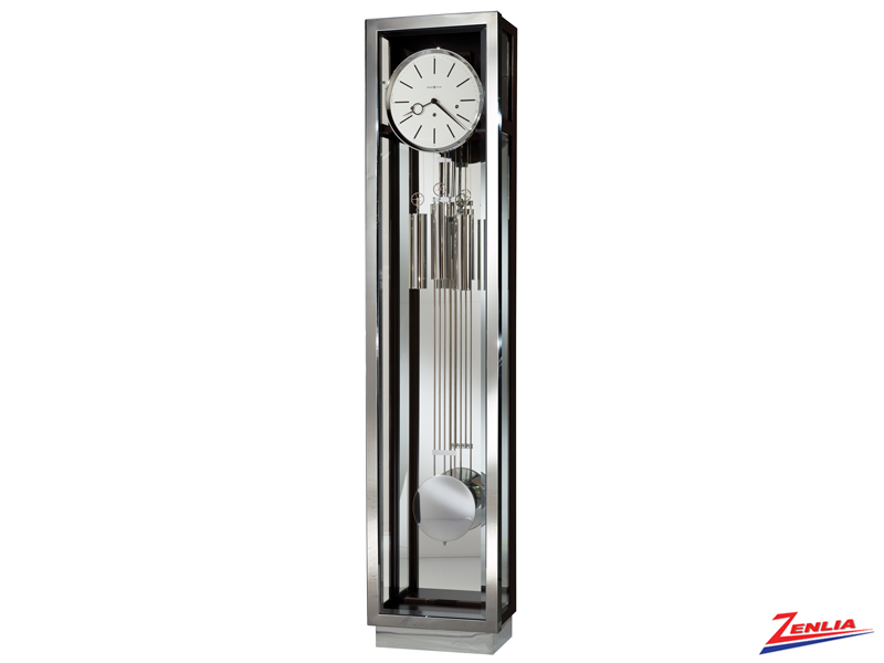Quint 2 Stainless Steel Floor Clock