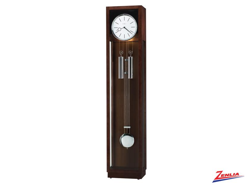 Ava Espresso Floor Clock