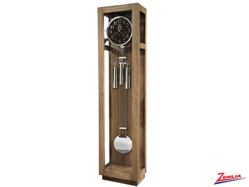 Moss Modern Driftwood Floor Clock