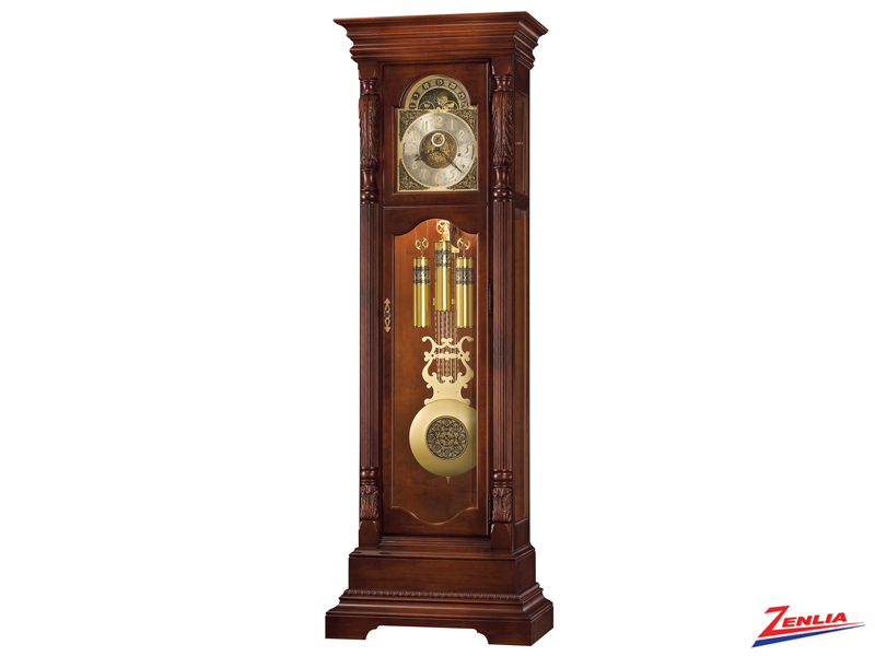 Elgi Roman Ogee Design Floor Clock