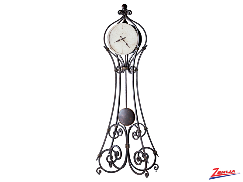 Verce Ironstone Floor Clock