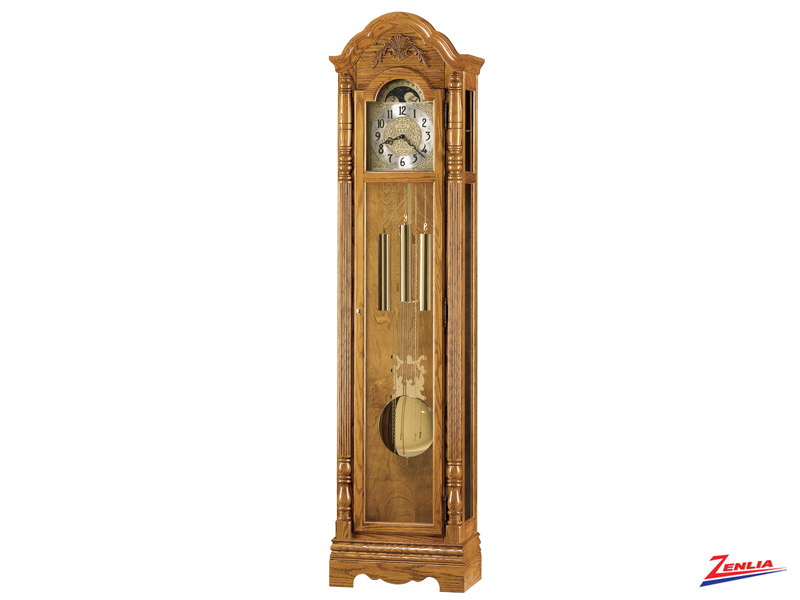 Jose Golden Oak Classic Floor Clock