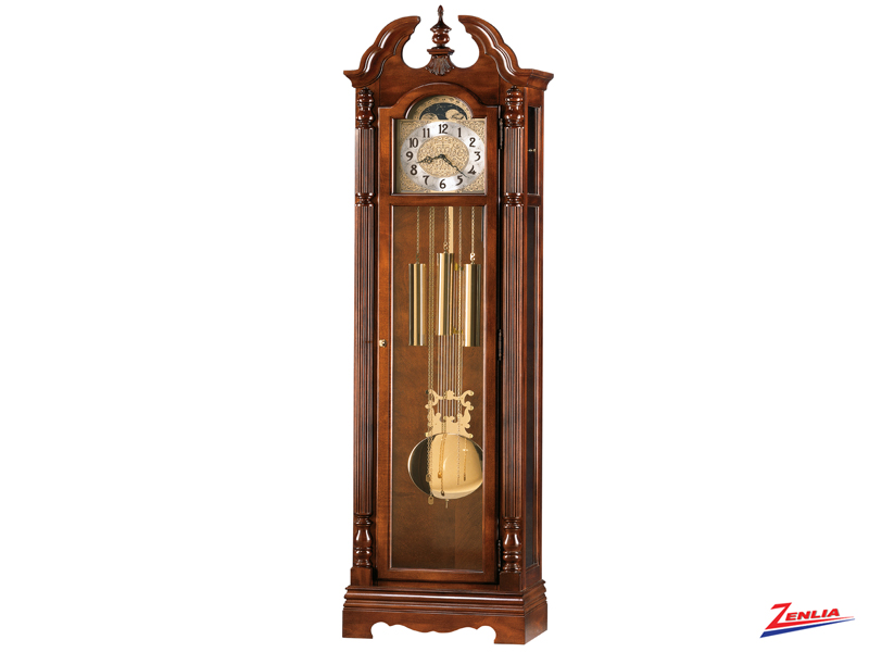 Jona Windsor Cherry Floor Clock