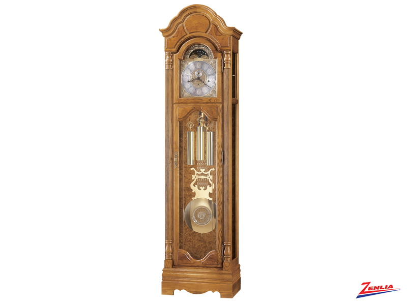Bron Golden Oak Classic Floor Clock