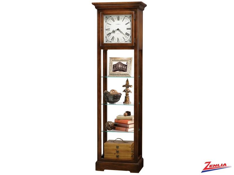 Le Modern Curio Floor Clock