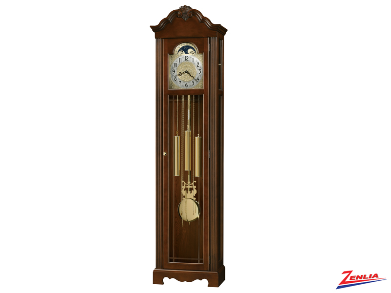 Nic Cherry Finish Classic Floor Clock