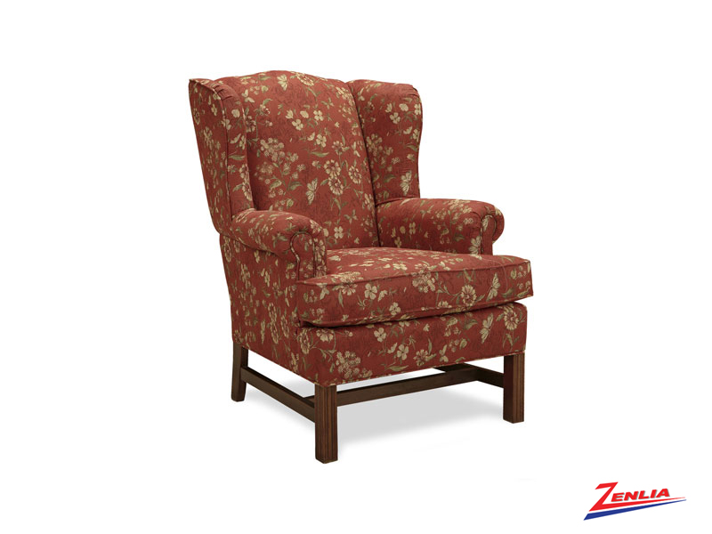 Traditional Wing Accent Chair