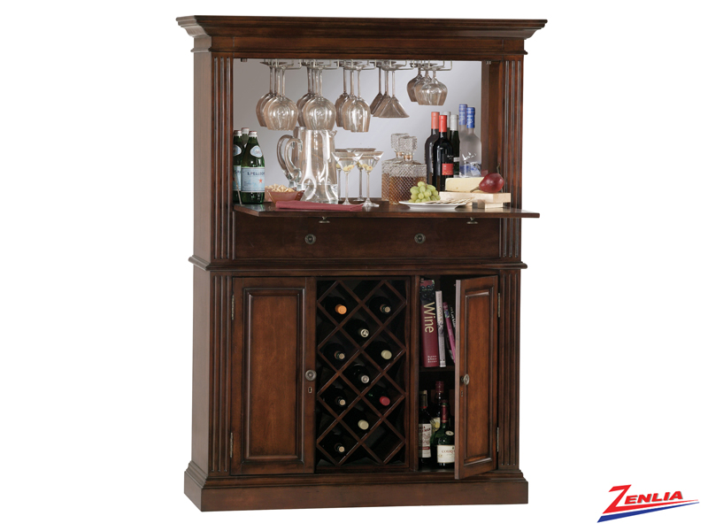 Seneca Hide A Bar Cabinet