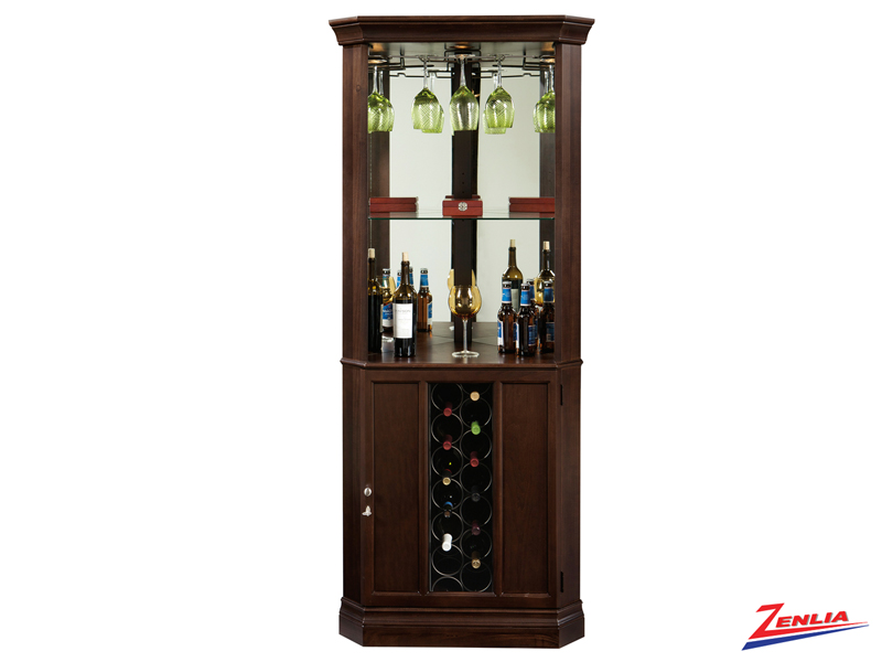 Pied 3 Coner Wine & Bar Cabinet