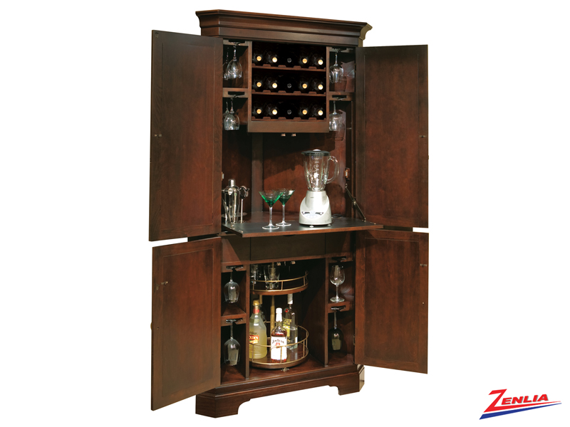 Nor Hide A Bar Cabinet