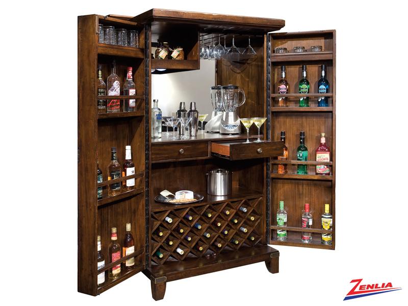 Rogue Wine & Bar Cabinet