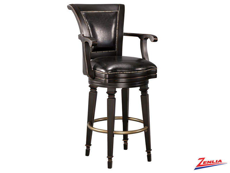 North Swivel Bar Stool