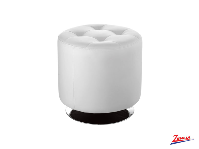 Doma Wh Swivel Small Ottoman