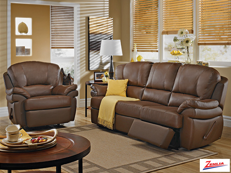 Kyr Reclining Sofa Set